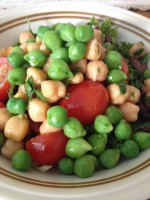 chickpea-garbanzo-salad